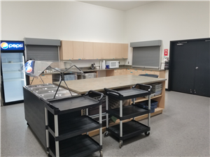 Multi-Purpose Room Commercial Kitchen