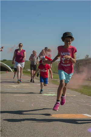 Canada Day Color Run